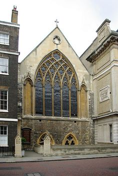 ST ETHELDRED'S CHURCH / LONDON ~ THE ONLY SURVIVING BUILDING FROM THE REIGN OF EDWARD I   (1239–1307)