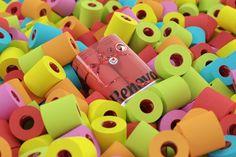 Renova coloured toilet paper