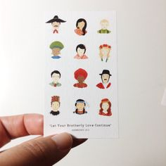 """2016 """"Let Your Brotherly Love Continue"""" Hebrews 13:1 Contact Card, International Convention Gift, JW Gift, Business Card, Pack of 25 by SeasonedWSalt on Etsy https://www.etsy.com/listing/268509729/2016-let-your-brotherly-love-continue"""