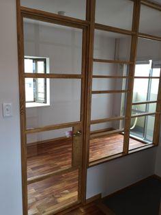 ガラスの造作間仕切り壁 | e018@OKUTA |リフォーム・マンションリフォームならLOHAS studio(ロハススタジオ) presented by OKUTA(オクタ)