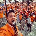 Pascal Redeker is op de Oranjecamping in Brazilië!