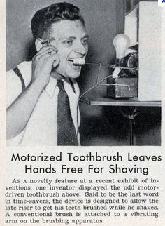 One (brief) chapter in the dental history of powered toothbrushes.