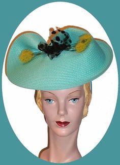 1940s Retro Hat