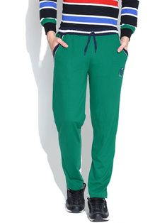 Duke Men's Stem Green Track Pants by Returnfavors