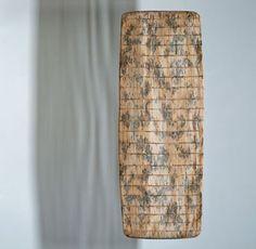 merja winqvist paper canoe Paper Sculptures, Canoe, Baskets, Fiber, Objects, Paper Crafts, Textiles, Home Decor, Art