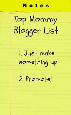 The Problem with Blogger Lists
