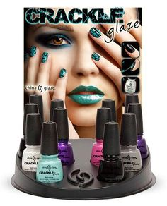 China Glaze Crackle cracks as it dries creating an amazing and fun style that looks professional.
