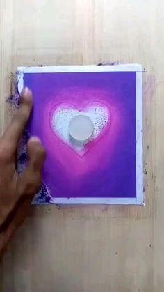 Art Drawings For Kids, Art Drawings Sketches Simple, Pencil Art Drawings, Oil Pastel Art, Oil Pastel Drawings, Art Painting Gallery, Diy Art, Art Projects, Diy Videos