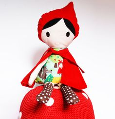 Hey, I found this really awesome Etsy listing at https://www.etsy.com/listing/129350869/doll-handmade-red-riding-hood