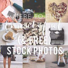 Beautiful Stock Photos for Your Blog/ Biz