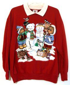 76575fc215e7 Vintage Ugly Christmas sweater You Pick 80s 90s xmas sweatshirt tshirt