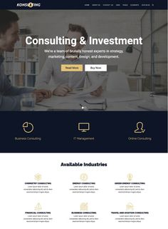 30+ Best Consulting WordPress Themes of 2020 Energy Consulting, Job Page, It Management, Header Banner, Marketing Consultant, Best Wordpress Themes, Page Layout, Website Template, A Team