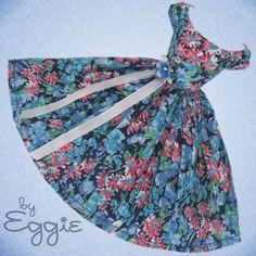 Pretty Pleats - Vintage Reproduction Repro Barbie Doll Dress Clothes Fashions #Fanfare