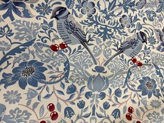 IMG_6416 William Morris, Canvas Fabric, Pattern, Cotton, Painting, Art, Art Background, Patterns, Painting Art