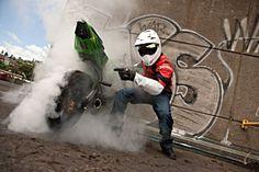 Sssssssmokin!! #burnout #superbike #motorcycle