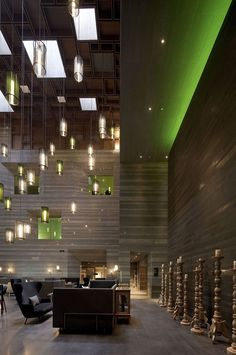 Le Meridien Zhengzhou/ Neri&Hu | Espacios / In & out. Space design. | Pinterest