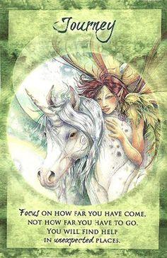"""Journey"" Magical Times Empowerment Cards par Jody Bergsma"