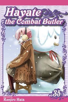 Hayate the Combat Butler, Vol. 35 by Kenjiro Hata Comics Manga Covers, Butler, Comics, English, Anime, Fictional Characters, Art, Art Background, Kunst