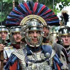 Roman legionary Centurion Primuspilus, first century AD