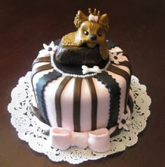 1000 Images About Yorkie Cakes Cupcakes And Pops On