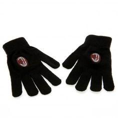 A.C. Milan Knitted Gloves Junior
