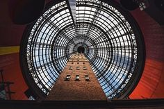 The 19th-century Coop Shot Tower in Melbourne, Australia