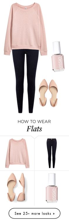 """Betty Cooper"" by lilith2002 on Polyvore featuring H&M and Essie"