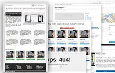 Bootstrap 2.3.* Starter KIT by Bootstraptor on @creativemarket