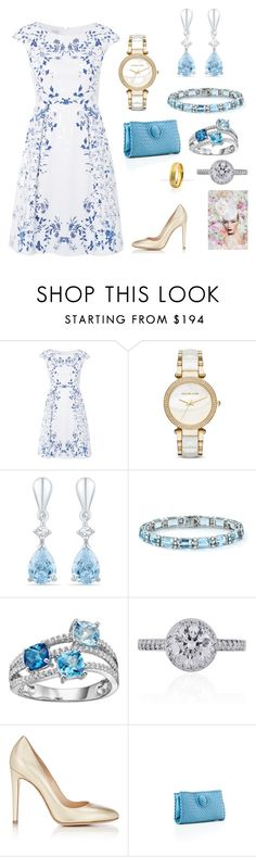 """2022 - Informal lunch"" by dezac-novaes on Polyvore featuring Hobbs, Michael Kors, Tiffany & Co., Gianvito Rossi and Bottega Veneta"