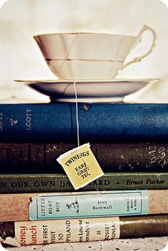 """You can't get a cup of tea big enough or a book long enough to suit me.""  ~  ~  C. S. Lewis"
