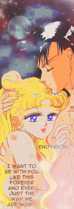 Princess Serenity and Prince Endymion manga