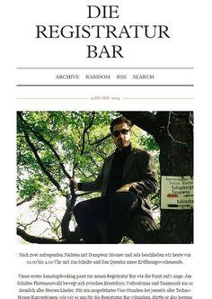 News und Infos über die Registratur Bar findet ihr zukünftig auch bei Tumblr (http://dieregistraturbar.tumblr.com/ )