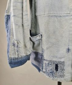 french workwear jacket vintage long john blog sanforized old authentic blue worn-out farmers rigid raw selvage france viva old  (6)