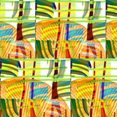 """Tropical Weather"" fabric by elizabethvitale on Spoonflower - custom fabric"