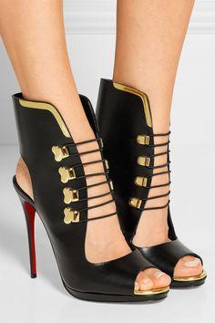 Christian Louboutin|Troubida 120 leather sandals|NET-A-PORTER.COM