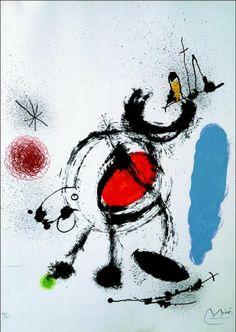 Joan Miro. . 1964