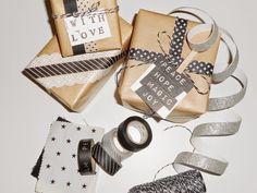 Manualidades con Washi Tape para Navidad