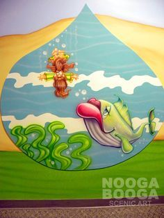 bible mural ideas - Google Search