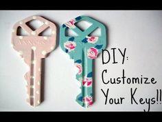 DIY Custom Keys : Key Design