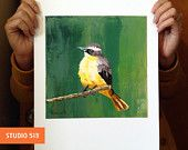 Chirping Charlie - Archival Pigment Print  by nathan Rhoads! Super-genius