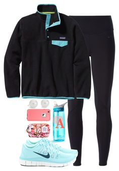 """Read description"" by keileeen ❤ liked on Polyvore featuring Blue Nile, CamelBak, NIKE, Patagonia, Vera Bradley and margs1kcon"