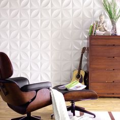Bring your walls to life with three-dimensional, patterned wall tiles.