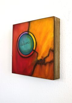 acrylic painting on wood panel - Google Search