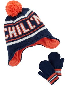 Chill N Hat   Mitten Set. Baby Boy AccessoriesClothing AccessoriesCarters  Baby BoysToddler ... d4e18a1d99ee
