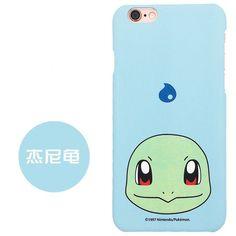Pokemons Japan Monsters Cat matte Plastic Case For i6 6S 6plus 6splus Back Cover shell