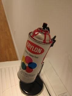 Spray Can Lamp. for konnor