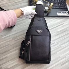 28cfa775effa PRADA men's Chest bag; model:6047; Size:31x16x4cm;Top quality; Very  competitive price; Welcome to consult the price; pinterest:@johnnychen9030;  ...