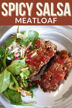 You don't need to be an aspiring chef to pull this meal together. You need just a few basic ingredients, an oven, and an hour. There's a serious amount of flavor in this salsa meatloaf for how little prep and time you need. #spicymeatloaf #spicysalsameatloaf #spicysalsa Meatloaf Recipes, Meat Recipes, Mexican Food Recipes, Meal Ideas, Dinner Ideas, Chipotle Recipes, Spicy Steak, Spicy Meatballs, Spicy Salsa