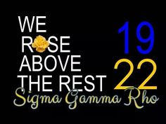 1922 Divine Nine, Greek Gifts, Sigma Gamma Rho, Greek Alphabet, Royal Blue And Gold, Sister Friends, Sorority Life, Sorority And Fraternity, How To Memorize Things