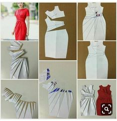 Este posibil ca imaginea să conţină: textI want to share this sleeve with you,I think the sleeves are very much in the front of the design, what do you think? Fashion Sewing, Diy Fashion, Fashion Dresses, Sewing Clothes, Diy Clothes, Clothing Patterns, Sewing Patterns, Pretty Dresses, Dresses For Work